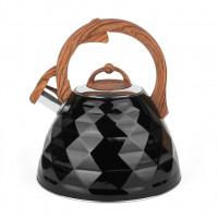 Kanvica Tadar Crystal 3l, čierna