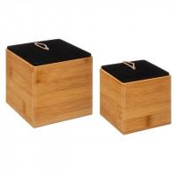 Bambusové zásobníky 5Five 7750, 2 kusy