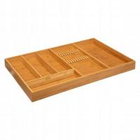 Bambusový príborník 5Five 9243, 53 cm