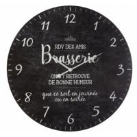 Nástenné retro hodiny Brasserie Atmosphera 2366, 57 cm