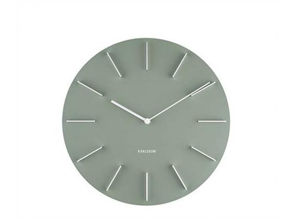 Nástenné hodiny Karlsson Discreet KA5783GR, 40cm