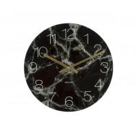 Nástenné/ stolné hodiny KA5616BK, Karlsson Marble small, 17cm