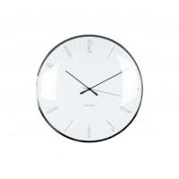 Nástenné hodiny Karlsson Dragonfly, Dome glass KA5623WH, 40cm