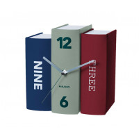 Stolové hodiny Karlsson Kniha 5629, 20 cm