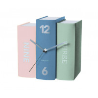 Stolové hodiny Karlsson Kniha 5630, 20 cm