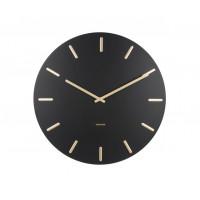 Dizajnové nástenné hodiny 5716BK Karlsson 45cm