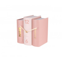 Stolové hodiny Karlsson 5730, Kniha 20 cm