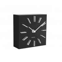 Dizajnové stolové a nástenné hodiny 5781BK Karlsson 15cm