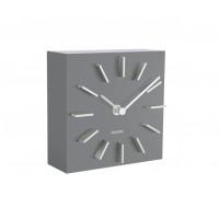 Dizajnové stolové a nástenné hodiny 5781GY Karlsson 15cm