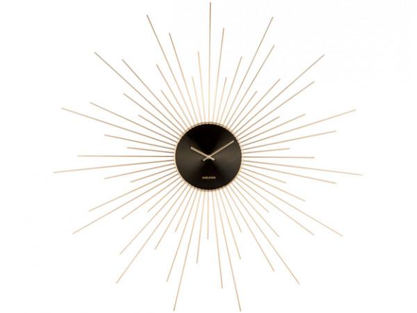 Nástenné hodiny ka5819 Karlsson Extreme Peony 95cm