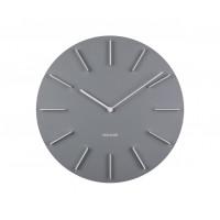 Nástenné hodiny KA5783Grey Karlsson 40cm