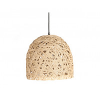 Závesná lampa Leitmotiv Nest cone medium natural, 30cm