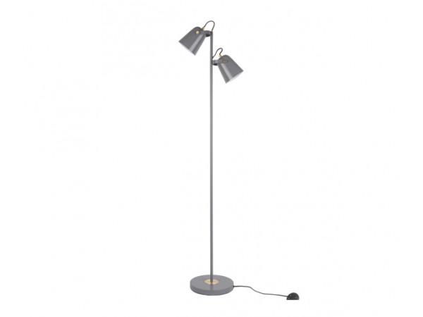 Podlahová lampa Leitmotiv Steady LM1915GY, 158cm