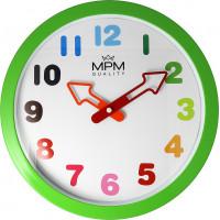 Detské nástenné hodiny MPM Arrow, 4050.40, 30 cm