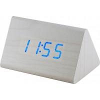 Digitálny LED budík MPM s dátumom a teplomerom 3569/00, 12cm