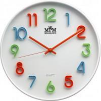 Detské nástenné hodiny MPM, 3460, 30cm