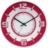 Nástenné hodiny MPM, 3220.23 - ružová, 30cm