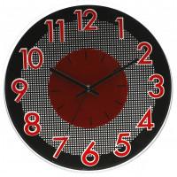 Nástenné hodiny MPM, 3234.20 - červená, 30cm