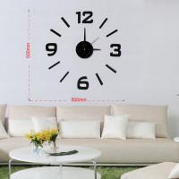 Nalepovacie nástenné hodiny, MPM 3508/3-12bk, 50cm