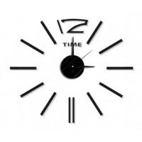Nalepovacie nástenné hodiny, MPM 3510/Time bk, 50cm