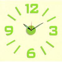 Nalepovacie nástenné hodiny, MPM 3514/3/12 Green, 60cm
