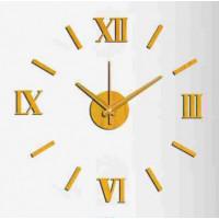 Nalepovacie nástenné hodiny, MPM 3513/Rim Or, 60cm