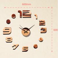 Nalepovacie nástenné hodiny, MPM 3776,83, 60cm