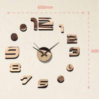 Nalepovacie nástenné hodiny, MPM 3776,10, 60cm