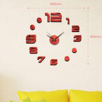 Nalepovacie nástenné hodiny, MPM 3776,20, 60cm