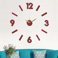 Nalepovacie nástenné hodiny, MPM 3775.20, 75cm