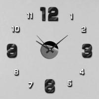 Nalepovacie nástenné hodiny, MPM 3774.0090, 50cm
