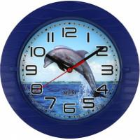 Nástenné hodiny MPM 3687, delfín 22cm