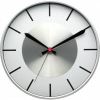Nástenné hodiny MPM 3457.7000 - strieborná/biela, 30cm
