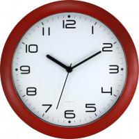 Nástenné hodiny MPM 3456.22 - červená tmavá, 30cm