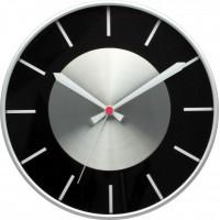 Nástenné hodiny MPM 3457.7090 - strieborná/čierna, 30cm