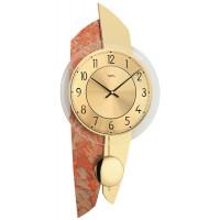 Dizajnové nástenné kyvadlové hodiny 7407 AMS 50cm