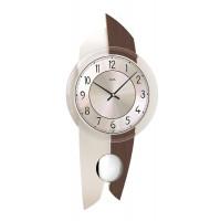 Dizajnové nástenné kyvadlové hodiny 7409 AMS 50cm