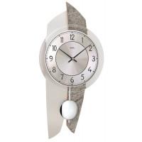 Dizajnové nástenné kyvadlové hodiny 7410 AMS 50cm