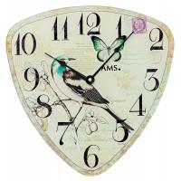 Dizajnové nástenné hodiny 9480 AMS 30cm