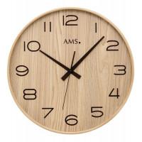 Designové nástenné hodiny 5522 AMS DCF, 40cm