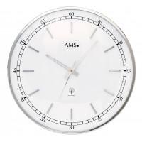 Dizajnové nástenné hodiny 5608 AMS riadené rádiovým signálom 40cm