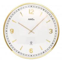 Dizajnové nástenné hodiny 5609 AMS riadené rádiovým signálom 40cm