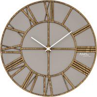 Dizajnové nástenné hodiny AMS 9635, 40 cm