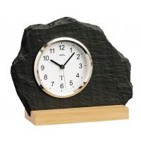 Originálne bridlicové hodiny riadené signálom DCF 5114 AMS 21cm