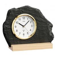 Originálne bridlicové hodiny riadené signálom DCF 5115 AMS 21cm