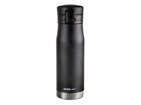ASOBU cestovná termofľaša Liberty black & silver 500ml
