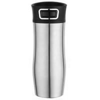ASOBU cestovná termoska Press Caffe silver 420ml