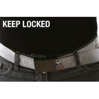 Opasok s upozornením WANTED,  Keep Locked!