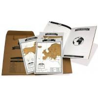 Cestovný denník so stieracími mapami