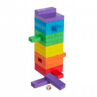 Rodinná hra Drevená veža, farebná rd2786